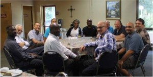 We gather for breakfast, real fellowship and prayer every month.